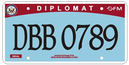 Decode US diplomatic license plates here — Quartz